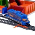 Железная дорога «Каменоломня», работает от батареек - фото 105643437