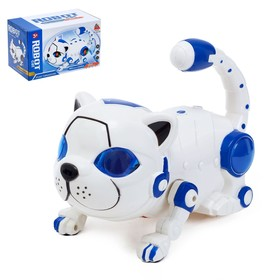 A toy robot Cat battery powered light and sound effects, the MIX