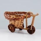Сувенир «Велосипед», 10×15×7 см, ива