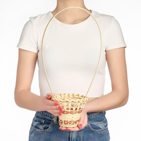 Корзина «Стакан», 12×14 см, бамбук