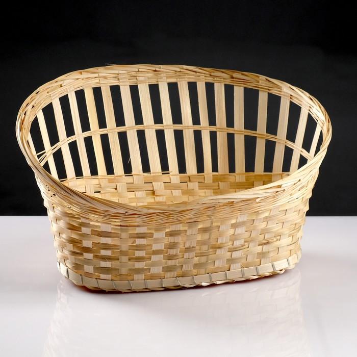 Корзина для подарков, 30×42×11/24, дно 14×30 см, бамбук