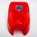 Горшок туалетный детский «Малышок», цвет красный - фото 107009616