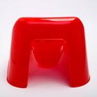Горшок туалетный детский «Малышок», цвет красный - фото 107009617