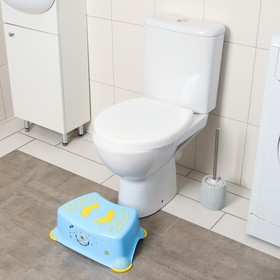 Подставка детская, антискольз., цвет голубой
