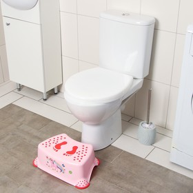 Подставка детская, антискольз., цвет розовый