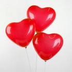 """Шар латексный 12"""", сердце, пастель, набор 50 шт., цвет красный - фото 169227826"""