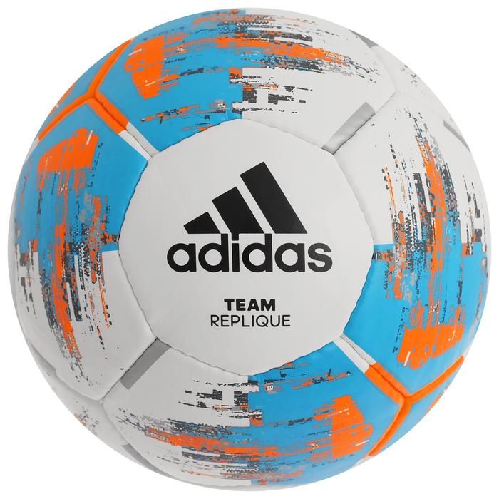 Мяч футбольный ADIDAS Team Replique, размер 5, PU, ручная сшивка, 26 панелей, CZ9569