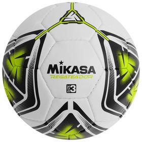 Мяч футбольный MIKASA REGATEADOR5-G, размер 3, PVC, ручная сшивка, 32 панели, 3 подслоя