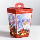 Складная коробка «С Новым годом», 11 × 17 × 11 см