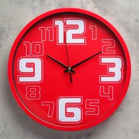 """Часы настенные, серия: Классика, """"Бакедано"""", d=28.5 см, дискретный ход, микс"""