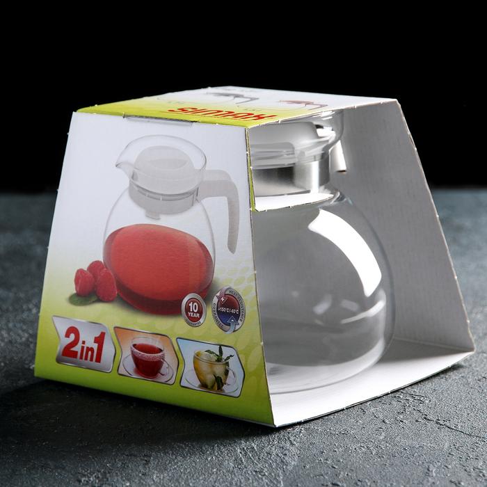 Чайник заварочный 1,5 л Svatava