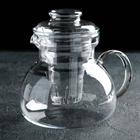 Чайник заварочный 1,5 л Marta, со стеклянным фильтром