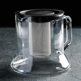 Чайник заварочный 1,8 л, с металлическим фильтром