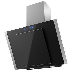 Вытяжка Shindo OSTARIA sensor 60 SS/BG, наклонная, 600 м3/ч, 3 скорости, 60 см, чёрная