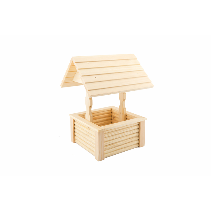 """Игрушка для грызунов в клетку """"Колодец"""" большой, 23 х 20 х 30 см, массив дерева"""