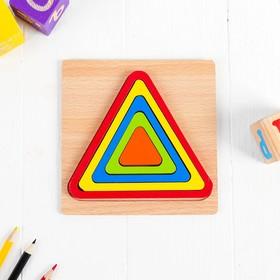 Рамка-вкладыш. Фигуры «Треугольник»