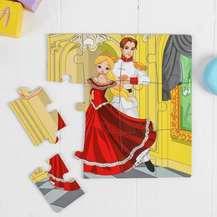 Набор пазлов в коробке «Для принцессы»