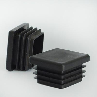 Заглушка квадратная, Т79 TDM,  20*20мм, цвет черный