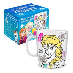 """Mug for painting """"A Tale is Near"""", Frozen, 250 ml"""