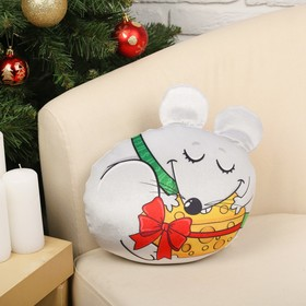 """Soft toy anti-stress """"mouse with cheese"""""""
