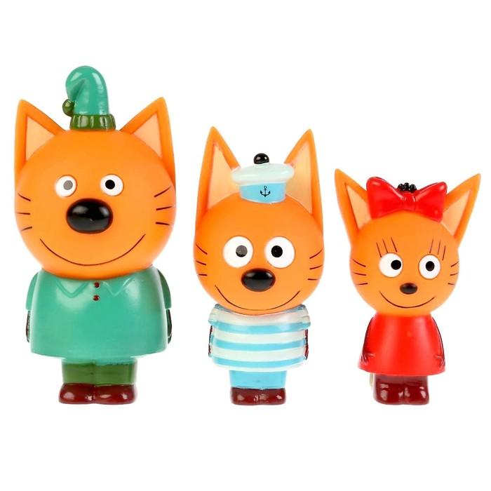 Набор из 3-х игрушек для купания «Компот, Коржик, Карамелька», в коробке