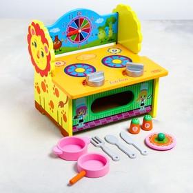 Игровой набор «Кухня-Львёнок» 27×21×7 см