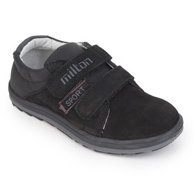 Low shoes preschool art. 25611-SB, black, size 27