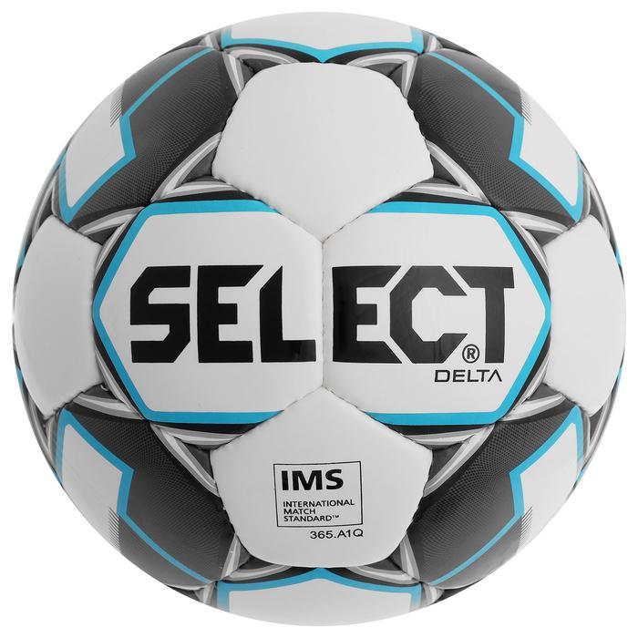 Мяч футбольный SELECT Delta, размер 5, TPU, ручная сшивка, 32 панели, 815017-009