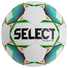 Мяч футбольный SELECT Talento, размер 3, PU, ручная сшивка, 32 панели, 4 подслоя, 270-290 г, 811008-104