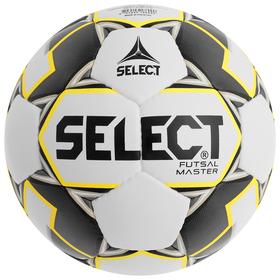Мяч футзальный SELECT Futsal Master, размер 4, IMS, PU, ручная сшивка, 32 панели, 3 подслоя, 852508-051