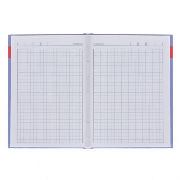 Блокнот А6, 160 листов «Зверушки. Паттерн», твёрдая обложка, глянцевая ламинация - фото 366909250