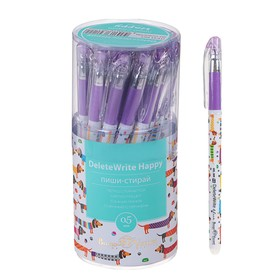 "Pen ""write-erase"" gel DeleteWrite ""Dachshunds"", knot 0.5 mm, blue core"