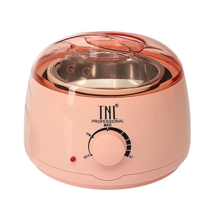 Воскоплав TNL wax 100, баночный 100 Вт, 400 мл, 35-100 ºС, розовый