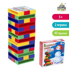 Настольная игра на реакцию и внимание «Падающая башня. Собери снеговика», фанты Ош