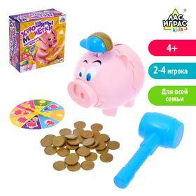Настольная игра на везение «Хрюшины монетки»