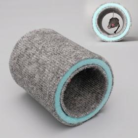 "Игрушка-когтеточка ""Кошки-мышки"", ковролин, 16 х 12 см микс"