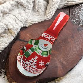 {{photo.Alt || photo.Description || 'Подставка под ложку Доляна «Снеговик», 24×10 см'}}