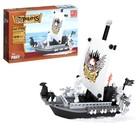 Конструктор «Пиратский катер», 129 деталей - фото 640071