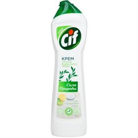 Крем чистящий Cif «Сила природы», универсальный, 450 мл