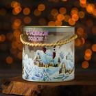 """Подарочная коробка, тубус """"Семейка"""", 12 х 12 см"""