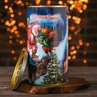 """Подарочная коробка, тубус """"Сосулька"""", 16,2 х 30 см"""