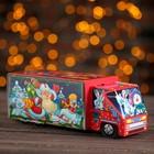 """Подарочная коробка """"Сладкоежка"""", красный, 26 х 8,7 х 8,3 см"""