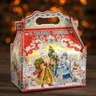 """Подарочная коробка """"Праздничный"""", с анимацией, 20,5 х 12,3 х 22 см"""