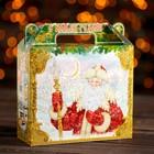 "Подарочная коробка ""Новогодний Кремль"", с анимацией , 17,3 х 6,5 х 15 см"
