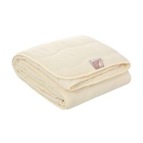 Одеяло Овечья шерсть 2 сп, файбер 150 г/м2, микрофибра, п/э 100% - фото 62235