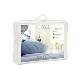 Одеяло Овечья шерсть 2 сп, файбер 150 г/м2, микрофибра, п/э 100% - фото 62236