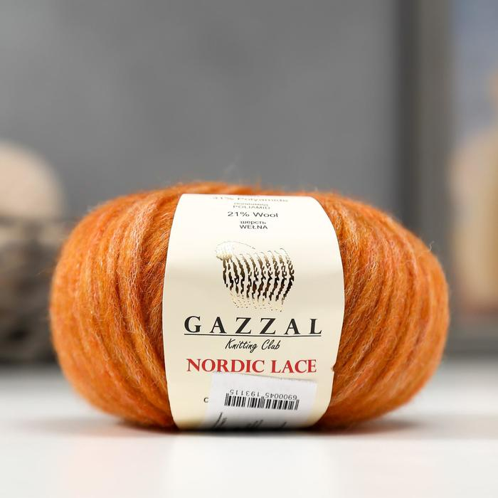 "Пряжа ""Nordic Lace"" 48% акрил, 31% полиамид, 21% шерсть 115м/50гр (5020) - фото 702124664"