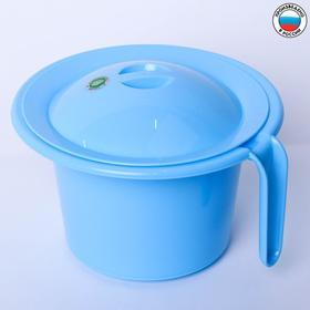 Горшок детский 'Кроха' с крышкой, цвет голубой Ош