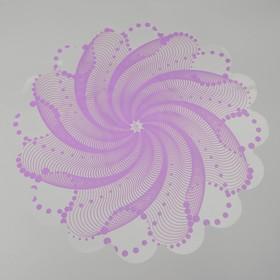 """Tissue paper for flowers """"bead"""", lavender, diameter 60 cm"""