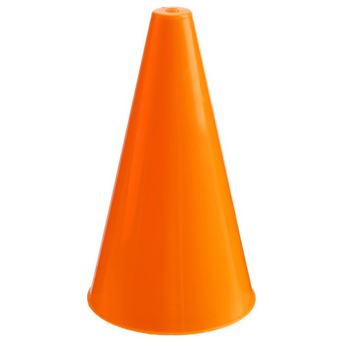 Конус для разметки полей и трасс, h=20 см, цвет оранжевый, гп14610
